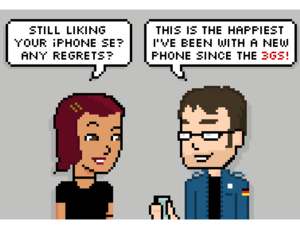 Comic: Do you regret your iPhone SE?