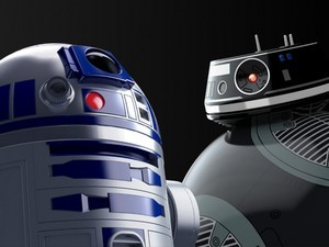 R2-D2 and BB-9E are available now, Same Day Prime delivery in some areas
