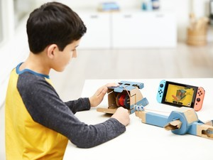 Nintendo announces Labo: Switch compatible cardboard toys