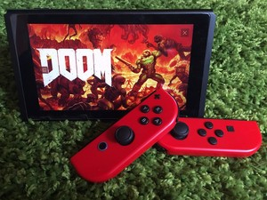 How to use motion controls in Doom for Nintendo Switch