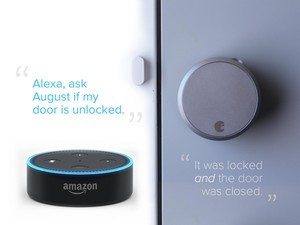 Does the August Smart Lock Pro work with Alexa?