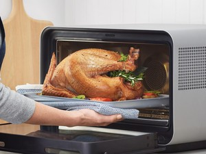 June smart ovens has teamed up with Whole Foods to help make dinner easy