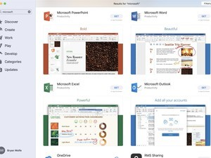 Office 365 suite now available on the Mac App Store
