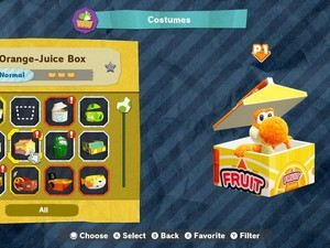 How to collect every costume in Yoshi's Crafted World