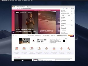 Microsoft Edge Dev and Canary for Mac builds leaked