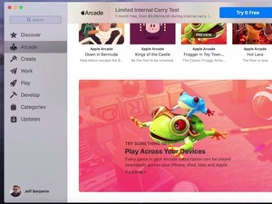 Early gameplay preview shows off Apple Arcade games on a Mac