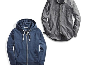 Ace business casual with deals on button-up shirts, layering basics, & more