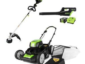 Keep your lawn looking great with discounted Greenworks outdoor tools