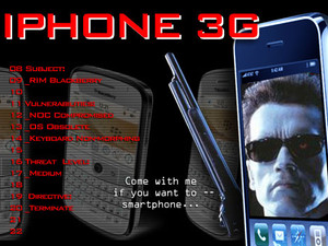 Top 10 Reasons Why the Blackberry Compares Worse Than Ever to the iPhone 3G - Wait-a-Thon!
