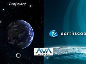 App vs App: Google Earth vs Earthscape