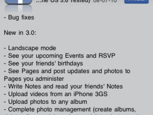 Facebook 3.0.1 for iPhone -- With Bug Fixes! -- Now in the App Store