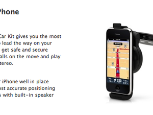 Got $120? Apple Online Store has TomTom Car Kit for iPhone!