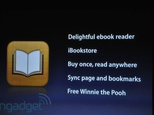 Apple adds iBooks to iPhone 4.0
