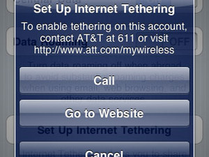 AT&T internet tethering finally arriving along with iPhone OS 4?