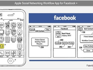 Facebook integration into iPhone OS - Apple patent watch