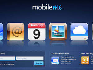 MobileMe web apps back online with updated mail UI, app switcher