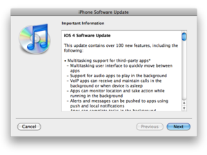 iOS 4.3.2 coming in the next two weeks?