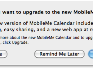 MobileMe Calendar Beta upgrades being offered via iCal
