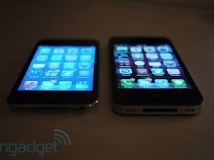 iPod touch 4 has Retina Display but no IPS
