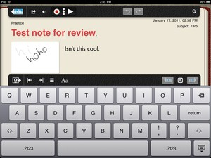 Notability for iPad - app review