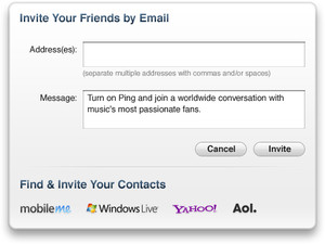 How to use MobileMe, Windows Live, Yahoo, and AOL to get more social with Ping