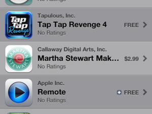 App Store ratings M.I.A.?