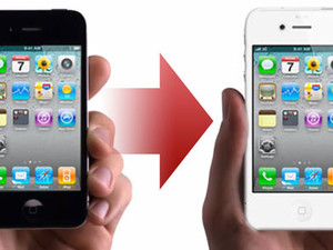 Daily Tip: How to transfer data from your old phone to your new white iPhone 4