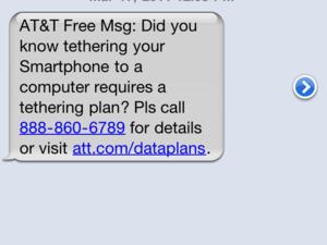 UPDATED: AT&T cracking down on jailbroken MyWi users?