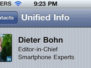 Daily Tip: How to link iPhone, iPad contacts for unified info