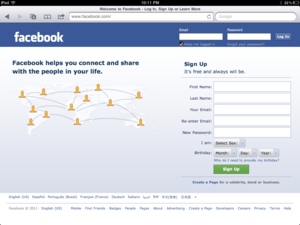 Official Facebook for iPad app coming soon?