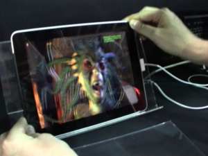 iPad with a 3D display spotted at Display Taiwan show? [video]