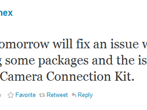 Comex to address camera connection kit issues caused by jailbreakme [jailbreak]