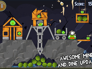 Angry Birds for iPhone, iPad updated with 15 new levels