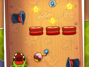 Cut the Rope for iPhone updates with new Toy Box