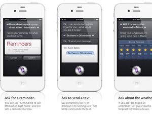 Apple announces SIRI artificial intelligence voice control for iPhone 4S