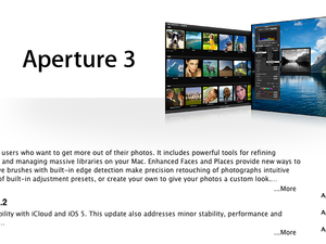Apple releases iPhoto 9.2, Aperture 3.2 with Photo Stream support