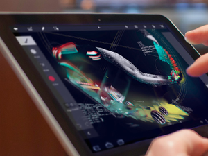 Adobe announces Photoshop Touch and Creative Cloud