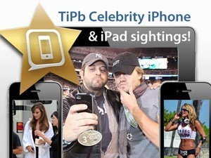 TiPb celebrity iPhone and iPad sightings for October 24, 2011