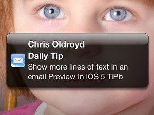 Daily Tip: How to change the amount of lines shown in an email preview