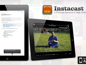 Manage podcasts on your iPad with Instacast HD