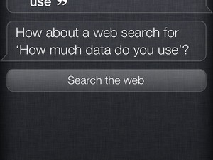 Siri doubles iPhone 4S data consumption