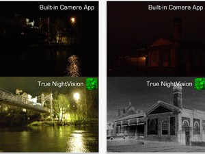 True NightVision app updated to 2.0, new modes promise much improved light amplification
