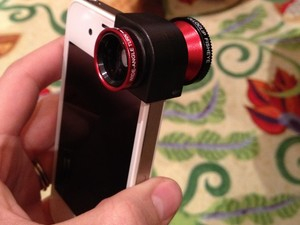 Hands on with olloclip, a wide angle, fisheye, and macro lens for iPhone