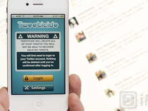 Delete all of your tweets with Tweeticide for iPhone