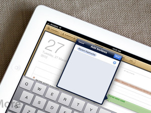 How to create and accept calendar invitations on your new iPad