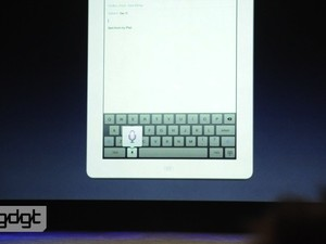 Voice dictation coming with the new iPad, but it's not siri