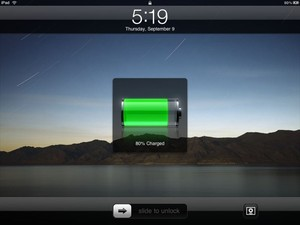 New iPad power indicator reportedly  two hours too fast