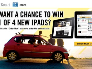 Last chance to win 1 of 4 new iPads!