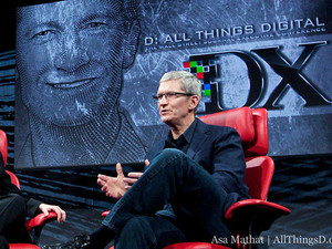 Tim Cook's full D10 interview video now available