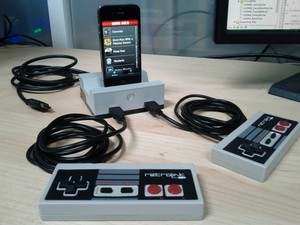Turn your iPhone into a two-player games console with GameDock, now seeking Kickstarter funding